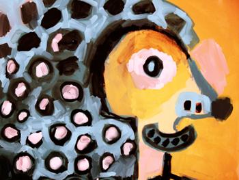 Jacinthe Chevalier acrylique painter peinture
