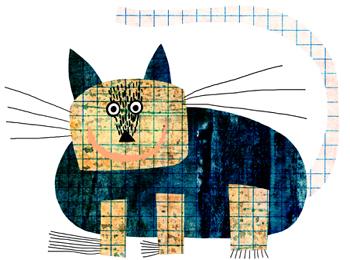 Jacinthe Chevalier cat chat gros chat grosse chatte animal noir jaune moustaches