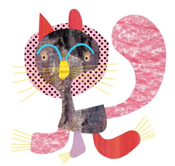 Jacinthe Chevalier chat lion couleurs griffes animal cat mignon