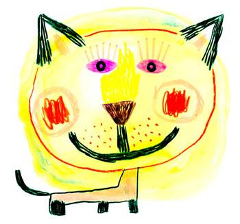 Jacinthe Chevalier chat soleil