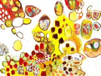 Jacinthe Chevalier animation abstrait couleurs